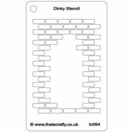 Thats-Crafty-Dinky-Stencil-Hole-in-the-Wall-Repeat-TC064