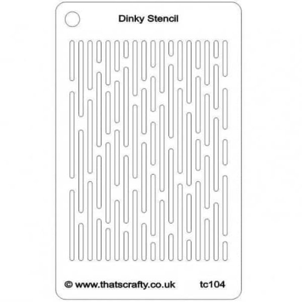 Thats-Crafty-Dinky-Stencil-Lines-TC104