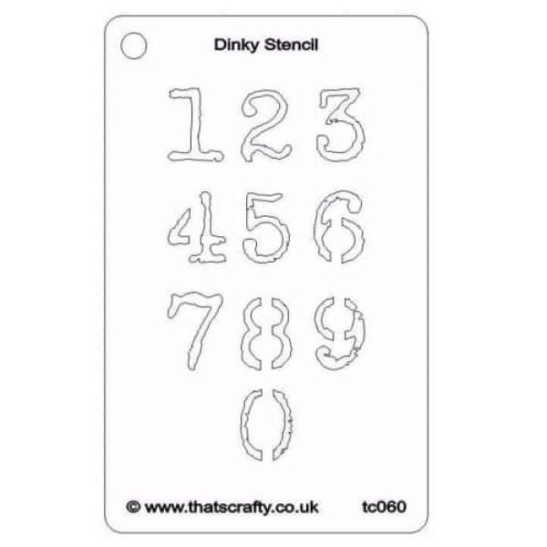 Thats-Crafty-Dinky-Stencil-Numbers-TC060
