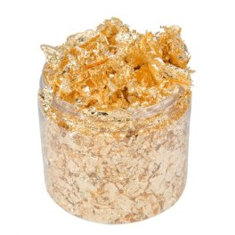 Cosmic shimmer gold flakes